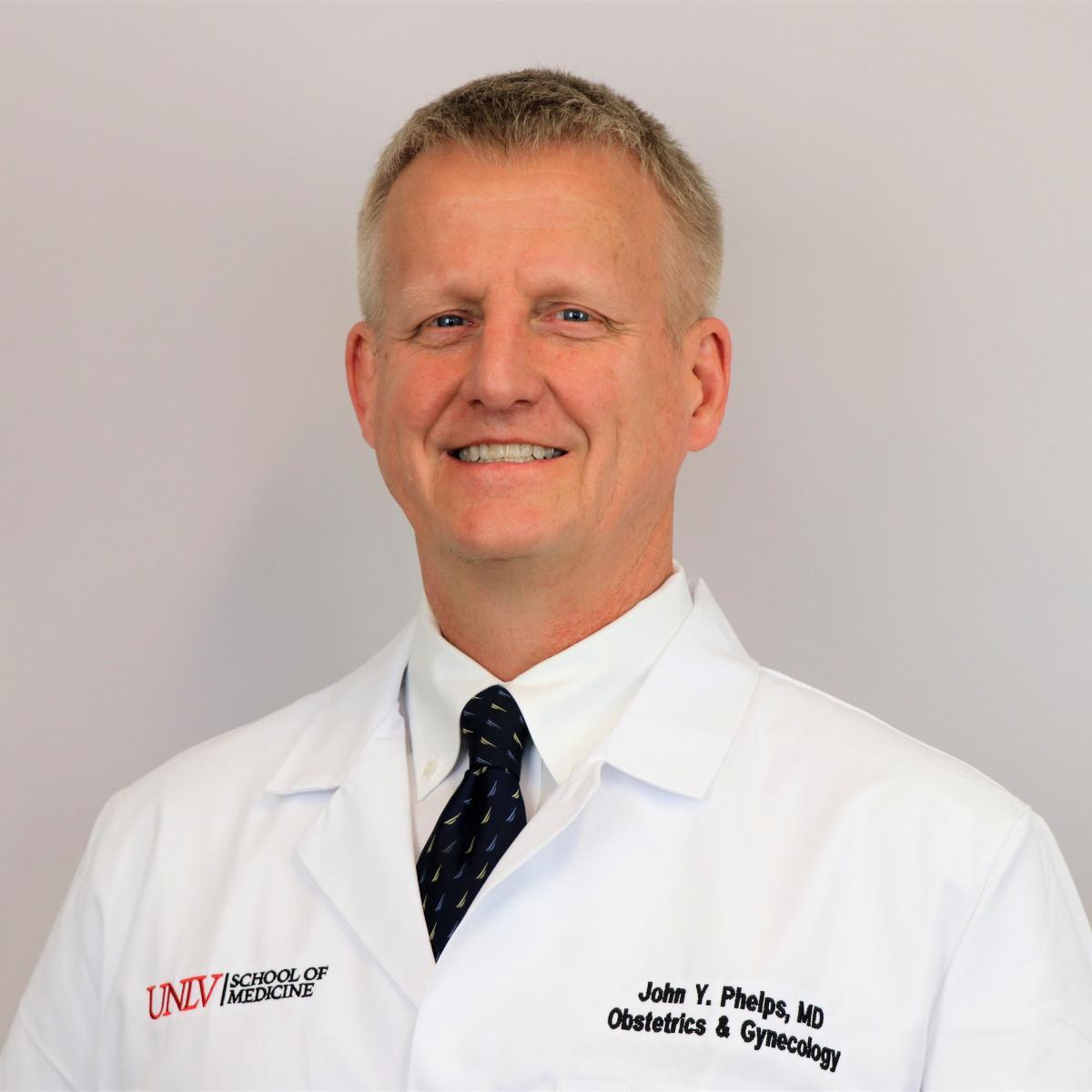 John Phelps, MD, JD, LLM - UNLV Medicine