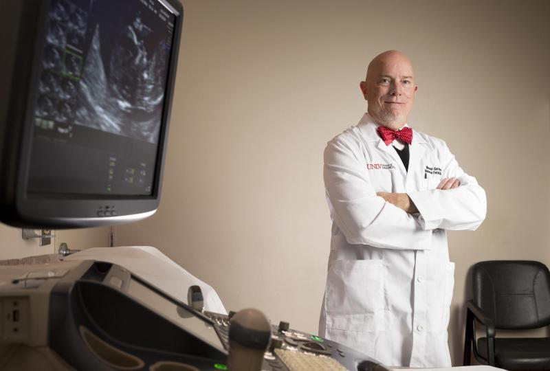 Photo: Dr. Gardner in his clinical practice