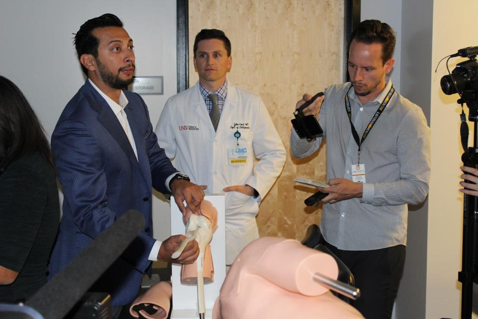 UNLV School of Medicine's Virtual Surgery Simulator