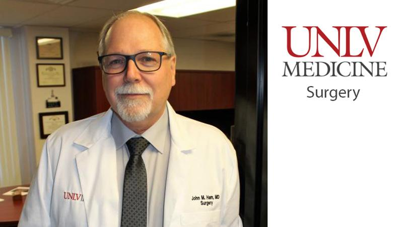 Photo: UNLV Medicine's Dr. John Ham