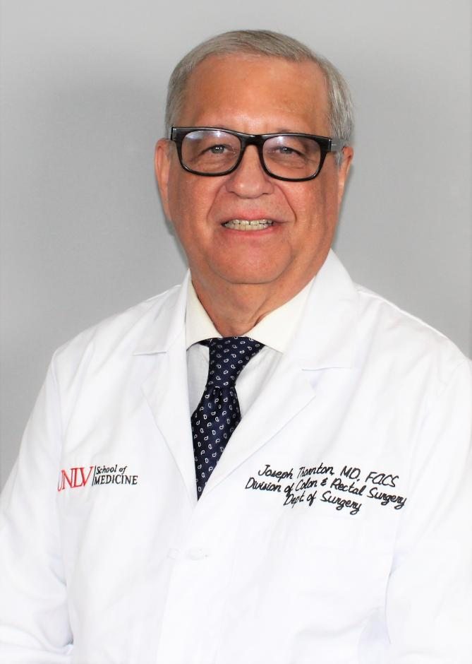Photo: Dr. Joseph Thornton, MD