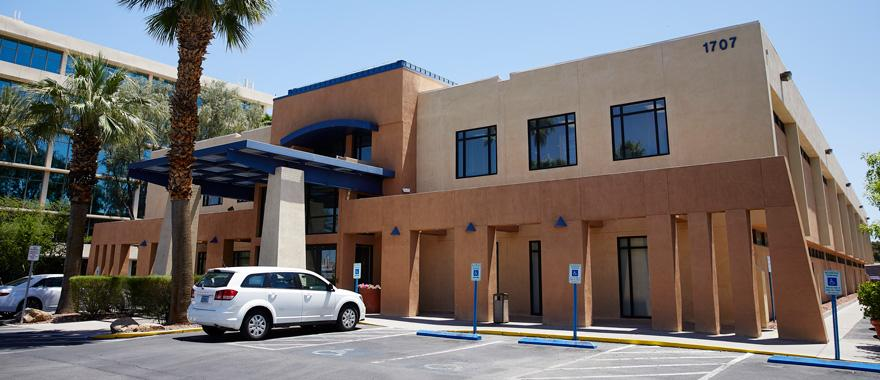 Photo: UNLV Medicine Building 1707 West Charleston Blvd.